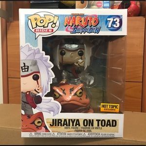 Funko POP Naruto Jiraiya on Toad 73 Exclusive